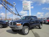 2004 Patriot Blue Pearl Dodge Dakota SLT Quad Cab 4x4 #62312224