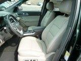 2013 Ford Explorer XLT 4WD Medium Light Stone Interior