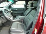 2013 Ford Explorer Limited 4WD Charcoal Black Interior