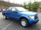 2012 Blue Flame Metallic Ford F150 STX SuperCab 4x4 #62377418