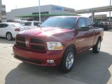 2012 Deep Cherry Red Crystal Pearl Dodge Ram 1500 Express Quad Cab 4x4 #62377681