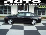 2010 Crystal Black Pearl Acura TSX Sedan #62377675