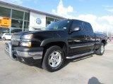 2005 Black Chevrolet Silverado 1500 LS Extended Cab 4x4 #62377665