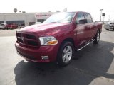 2012 Deep Cherry Red Crystal Pearl Dodge Ram 1500 Express Crew Cab 4x4 #62377625