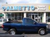 2008 Patriot Blue Pearl Dodge Ram 1500 ST Regular Cab #62377593