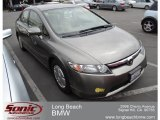 2006 Galaxy Gray Metallic Honda Civic Hybrid Sedan #62377558