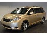 2011 Sandy Beach Metallic Toyota Sienna LE #62377851