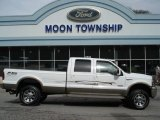 2005 Oxford White Ford F350 Super Duty King Ranch Crew Cab 4x4 #62377523