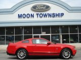 2011 Race Red Ford Mustang V6 Premium Coupe #62377522