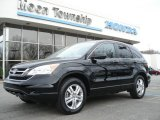 2010 Crystal Black Pearl Honda CR-V EX AWD #62377520