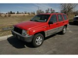 1994 Jeep Grand Cherokee Flame Red