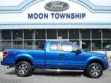 2012 Blue Flame Metallic Ford F150 STX SuperCab 4x4 #62377511