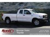 2012 Super White Toyota Tundra SR5 Double Cab 4x4 #62377166