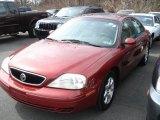 2000 Toreador Red Metallic Mercury Sable LS Sedan #62377493