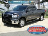 2011 Magnetic Gray Metallic Toyota Tundra SR5 Double Cab 4x4 #62377796