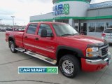 2006 Fire Red GMC Sierra 2500HD SLT Crew Cab 4x4 #62377754