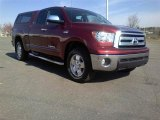 2010 Salsa Red Pearl Toyota Tundra SR5 Double Cab 4x4 #62377742