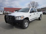 2007 Bright White Dodge Ram 3500 SLT Quad Cab 4x4 #62434176