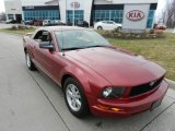 2006 Redfire Metallic Ford Mustang V6 Premium Convertible #62434456