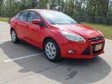 2012 Race Red Ford Focus SE Sedan #62434737