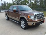 2012 Golden Bronze Metallic Ford F150 Lariat SuperCrew 4x4 #62434733