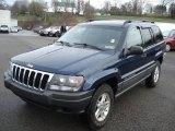 2002 Patriot Blue Pearlcoat Jeep Grand Cherokee Laredo 4x4 #62434162