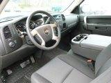 2011 Chevrolet Silverado 1500 LT Extended Cab 4x4 Ebony Interior
