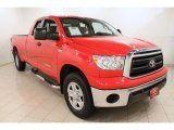 2010 Radiant Red Toyota Tundra Double Cab 4x4 #62434432