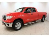 2010 Toyota Tundra Double Cab 4x4 Front 3/4 View