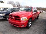 2012 Flame Red Dodge Ram 1500 Express Crew Cab 4x4 #62434413