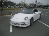 2008 Carrara White Porsche 911 Turbo Cabriolet #62434410
