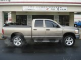 2006 Light Khaki Metallic Dodge Ram 1500 SLT Quad Cab 4x4 #62434124