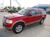 2003 Redfire Metallic Ford Explorer Eddie Bauer #62434081