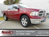 2012 Deep Cherry Red Crystal Pearl Dodge Ram 1500 Lone Star Crew Cab #62434645