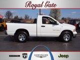 2005 Bright White Dodge Ram 1500 SLT Regular Cab #62434038