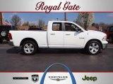 2010 Stone White Dodge Ram 1500 SLT Quad Cab #62434036