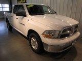 2011 Bright White Dodge Ram 1500 SLT Quad Cab 4x4 #62434352