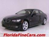2007 Black Sapphire Metallic BMW 3 Series 335i Coupe #543929