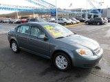 2007 Blue Granite Metallic Chevrolet Cobalt LT Sedan #62433926