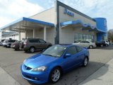 2005 Vivid Blue Pearl Acura RSX Sports Coupe #62434542