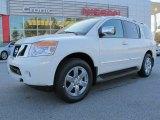 2012 Blizzard White Nissan Armada Platinum #62434232