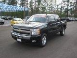 2009 Black Chevrolet Silverado 1500 LT Z71 Crew Cab 4x4 #62434503