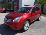 2012 Cayenne Red Nissan Rogue SV #62434488