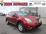 2012 Cayenne Red Nissan Rogue S Special Edition AWD #62434479