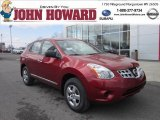 2012 Cayenne Red Nissan Rogue S AWD #62434478