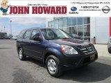 2006 Royal Blue Pearl Honda CR-V LX 4WD #62491179
