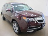 2011 Dark Cherry Pearl Acura MDX Technology #62491055