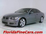 2007 Space Gray Metallic BMW 3 Series 335i Coupe #543838