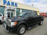 2010 Tuxedo Black Ford F150 Lariat SuperCab 4x4 #62491118