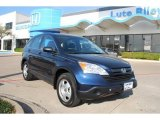 2008 Royal Blue Pearl Honda CR-V LX 4WD #6217789